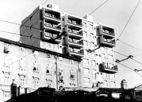 torre abitazioni e uffici, trieste