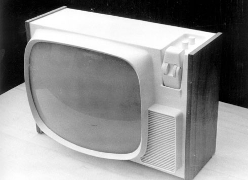 design zanussi televisore
